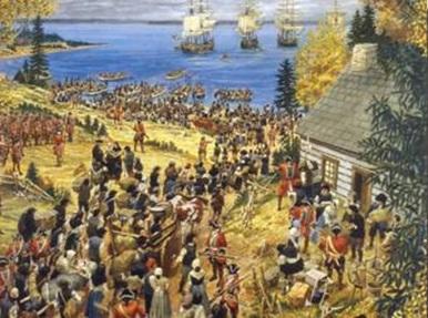 Le Grand Dérangement 1755-Cajun